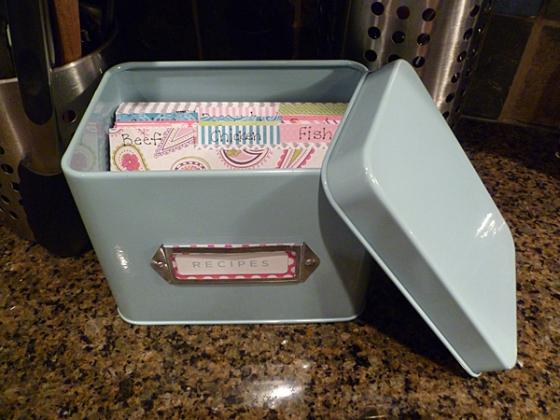 Recipe Box 8