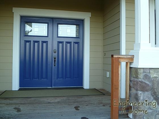 Painting Front Door 9