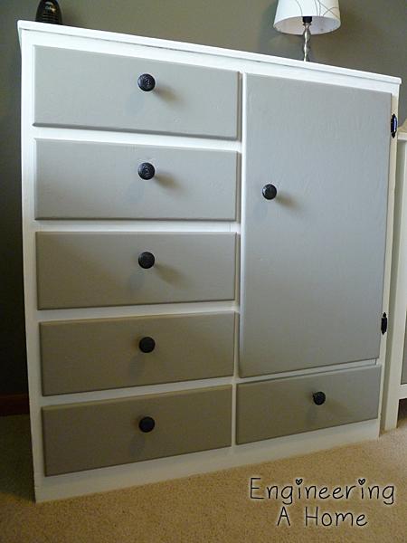 Painting Nursery Dressers 12